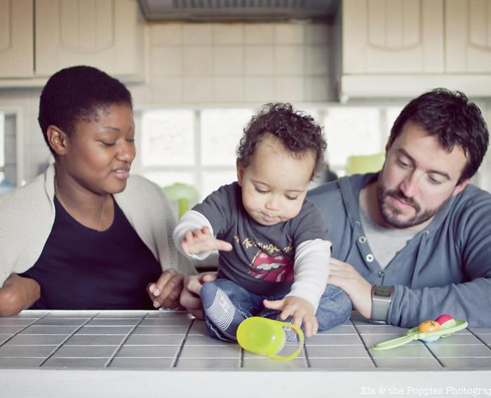 Photographe Portrait Famille | Beau petit Manoa…
