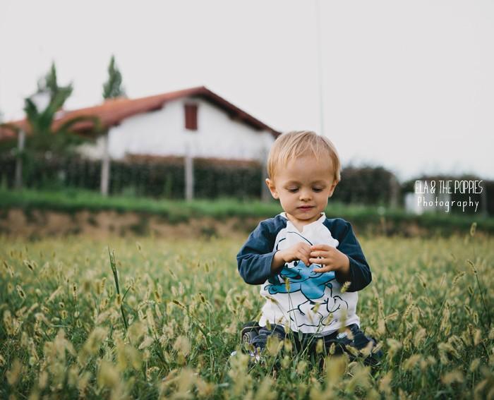 Photographe Portrait Enfant Famille Pays Basque | Ibai