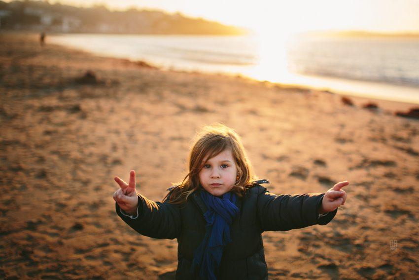 Photographe enfant Saint Jean de Luz | Une séance en hiver...