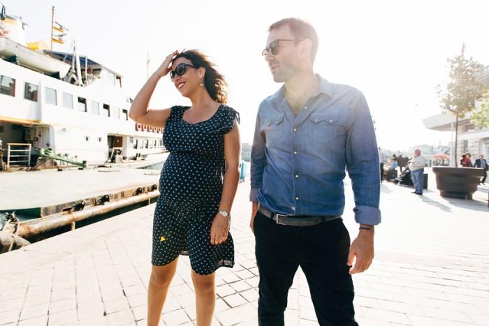 Séance Grossesse Istanbul | Mme E. et Mr L. … et baby surprise !