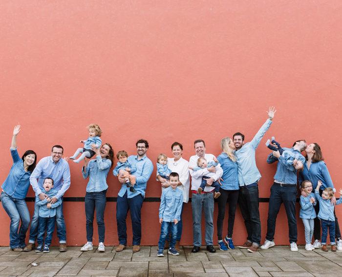 Séance photo famille Guéthary | Une famille au grand complet